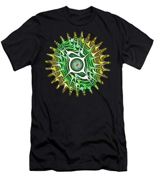 Spring Dragon Eye Men's T-Shirt (Athletic Fit)