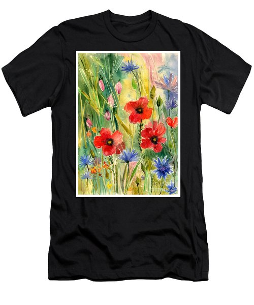 Spring Field Men's T-Shirt (Athletic Fit)