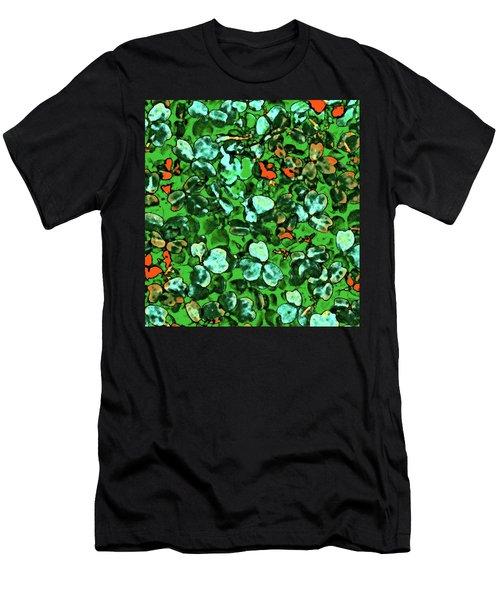 Spring Foiliage Men's T-Shirt (Athletic Fit)