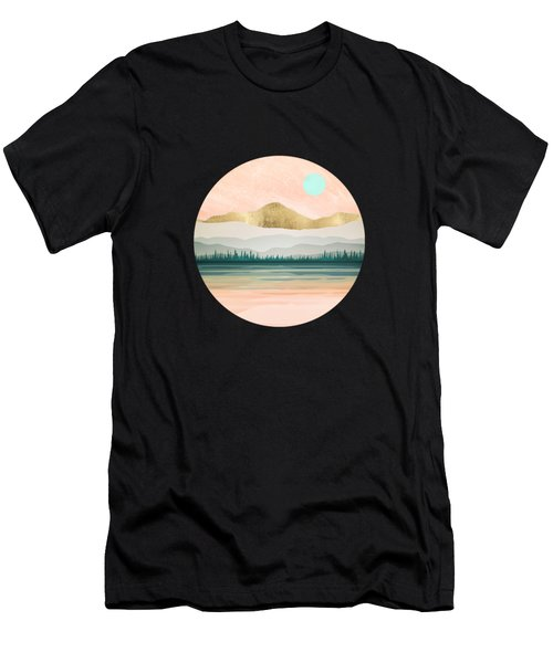 Spring Forest Lake Men's T-Shirt (Athletic Fit)