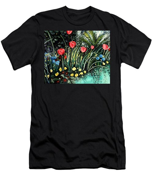 Spring Garden Men's T-Shirt (Athletic Fit)