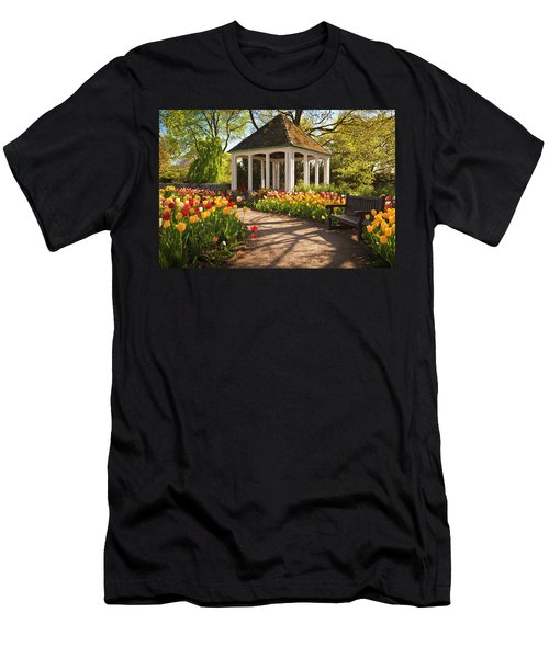 Spring Gazebo Men's T-Shirt (Athletic Fit)