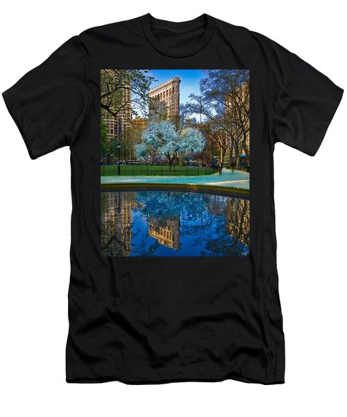 Spring In Madison Square Park Men's T-Shirt (Athletic Fit)