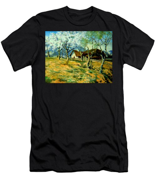 Spring In Poland Men's T-Shirt (Athletic Fit)
