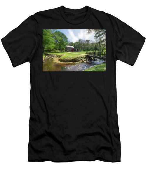 Men's T-Shirt (Athletic Fit) featuring the photograph Spring In Sudbury by Brian Hale