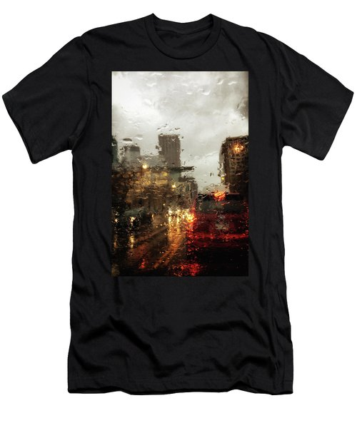 Spring In The City Men's T-Shirt (Athletic Fit)