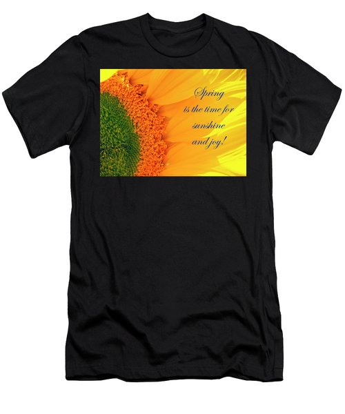 Spring Is The Time Men's T-Shirt (Athletic Fit)