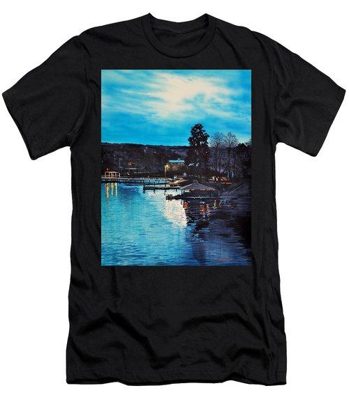 Spring Lake Nocturn Men's T-Shirt (Athletic Fit)