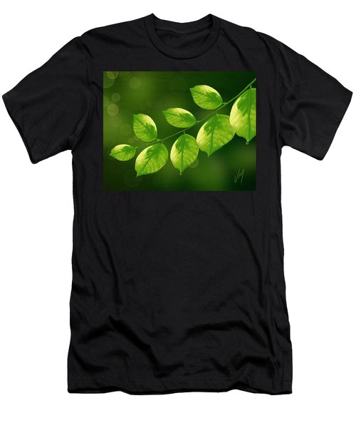 Men's T-Shirt (Slim Fit) featuring the painting Spring Life by Veronica Minozzi