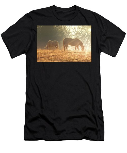 Men's T-Shirt (Athletic Fit) featuring the photograph Spring Morning In The Ozarks by Allin Sorenson