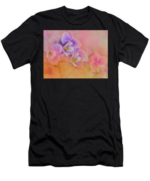 Spring Orchids Men's T-Shirt (Athletic Fit)