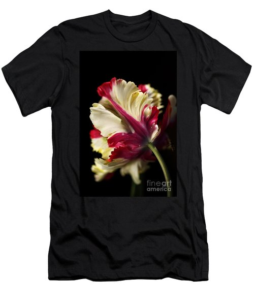 Spring Parrot Tulip Men's T-Shirt (Athletic Fit)