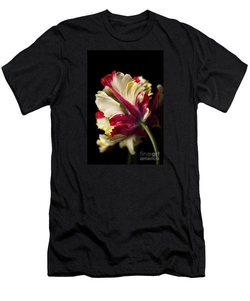 Spring Parrot Tulip Men's T-Shirt (Athletic Fit)