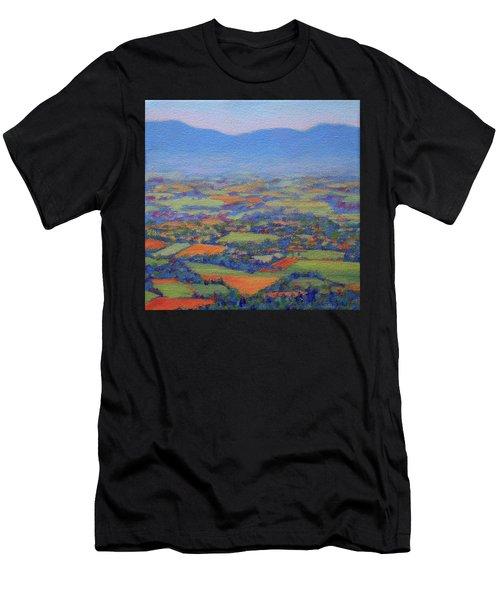 Spring Patchwork 2 Men's T-Shirt (Athletic Fit)