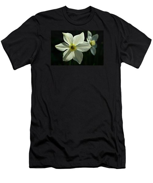 Spring Perennial Men's T-Shirt (Slim Fit) by Barbara S Nickerson