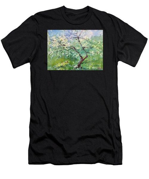 Spring Plum Men's T-Shirt (Athletic Fit)