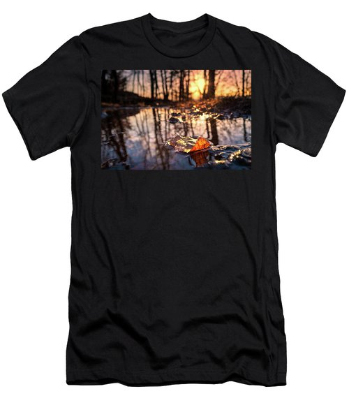 Spring Puddles Men's T-Shirt (Athletic Fit)