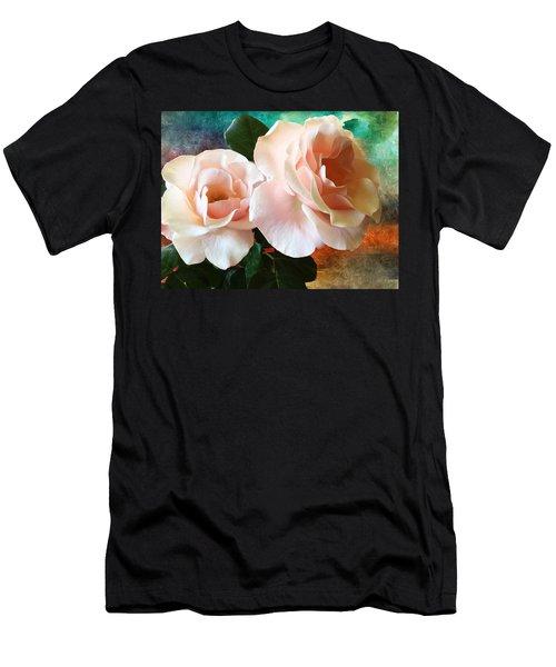 Spring Roses Men's T-Shirt (Athletic Fit)