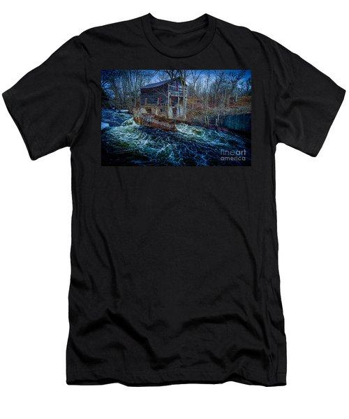 Spring Runoff Men's T-Shirt (Athletic Fit)