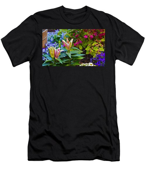 Spring Show 15 Lilies Men's T-Shirt (Athletic Fit)