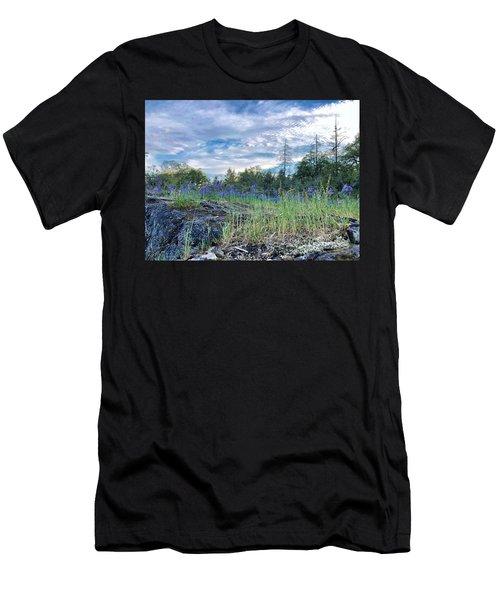 Spring Sky Men's T-Shirt (Athletic Fit)
