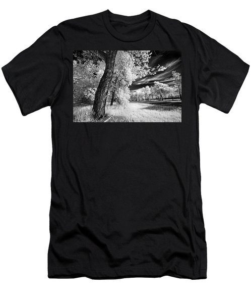 Men's T-Shirt (Slim Fit) featuring the photograph Spring Sky by Dan Jurak
