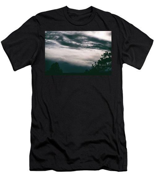 Spring Storm Cloudscape Men's T-Shirt (Athletic Fit)
