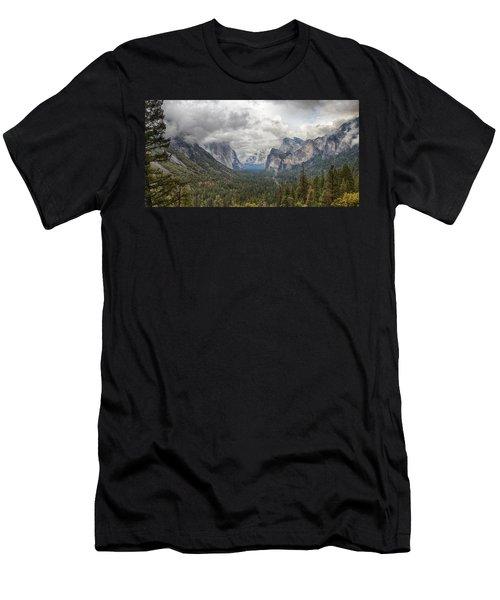 Spring Storm Yosemite Men's T-Shirt (Athletic Fit)