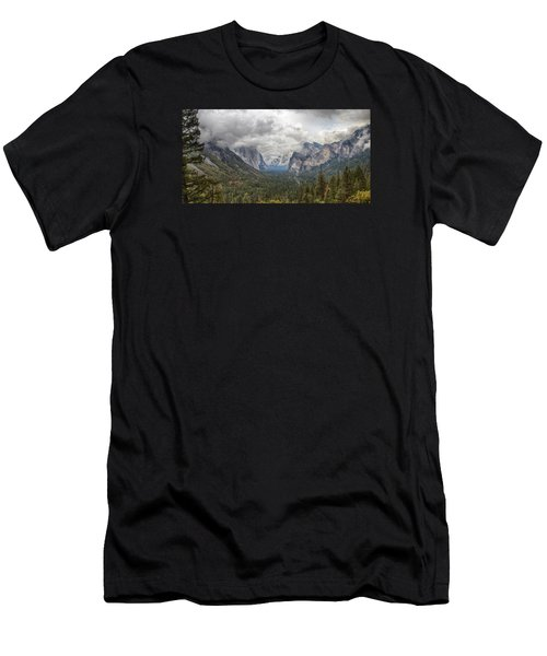 Spring Storm Yosemite Men's T-Shirt (Athletic Fit)