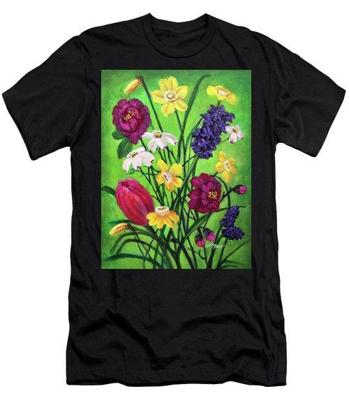 Spring Symphony Men's T-Shirt (Athletic Fit)