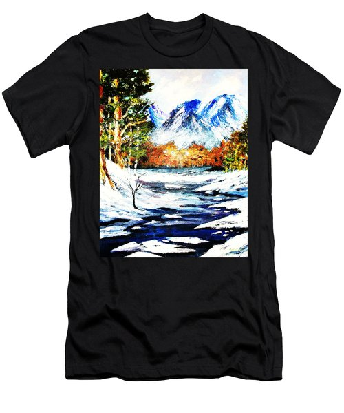 Spring Thaw Men's T-Shirt (Slim Fit) by Al Brown