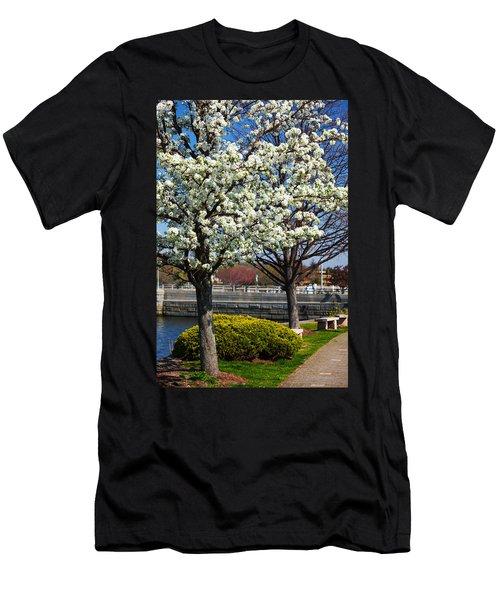 Spring Time In Westport Men's T-Shirt (Athletic Fit)