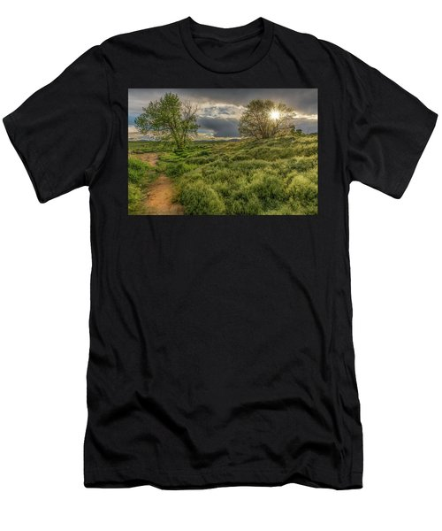 Spring Utopia Men's T-Shirt (Athletic Fit)