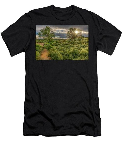 Spring Utopia Men's T-Shirt (Athletic Fit)