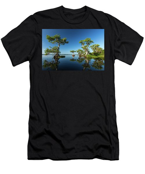 Spring Vistas At Lake Disston Men's T-Shirt (Athletic Fit)
