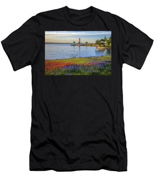 Spring Wildflowers Of Lake Buchanan Men's T-Shirt (Athletic Fit)