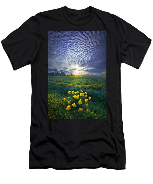Springing To Life Men's T-Shirt (Athletic Fit)