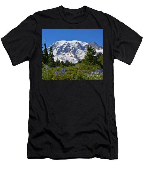 Springtime At Paradise 1 Men's T-Shirt (Athletic Fit)