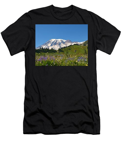 Springtime At Paradise 2 Men's T-Shirt (Athletic Fit)