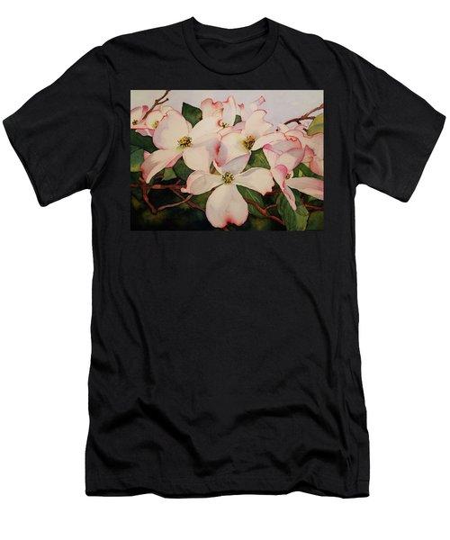 Springtime Dogwood Men's T-Shirt (Athletic Fit)