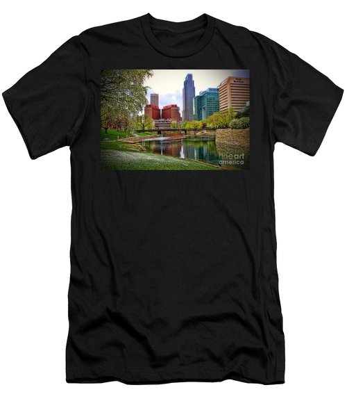 Springtime In Omaha Men's T-Shirt (Athletic Fit)