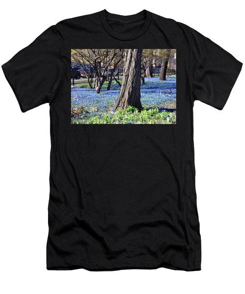 Springtime In The City Men's T-Shirt (Athletic Fit)
