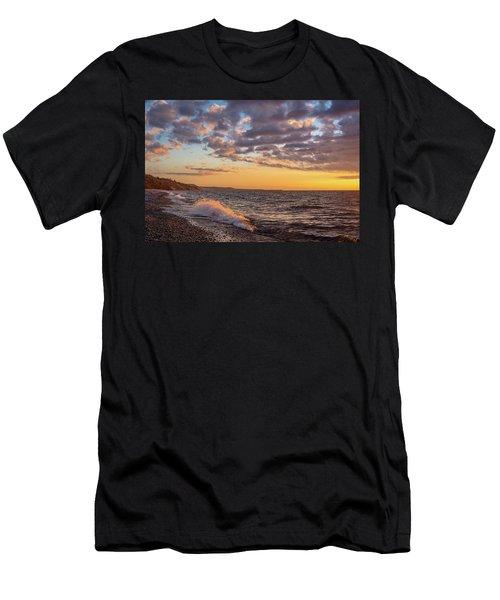 Springtime On Agate Beach Men's T-Shirt (Athletic Fit)