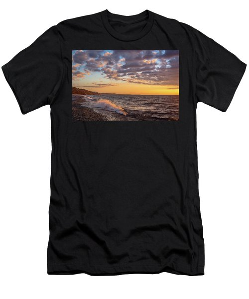 Springtime On Agate Beach Men's T-Shirt (Athletic Fit)