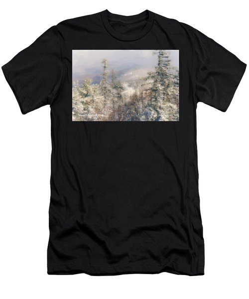 Spruce Peak Summit At Sunday River Men's T-Shirt (Athletic Fit)