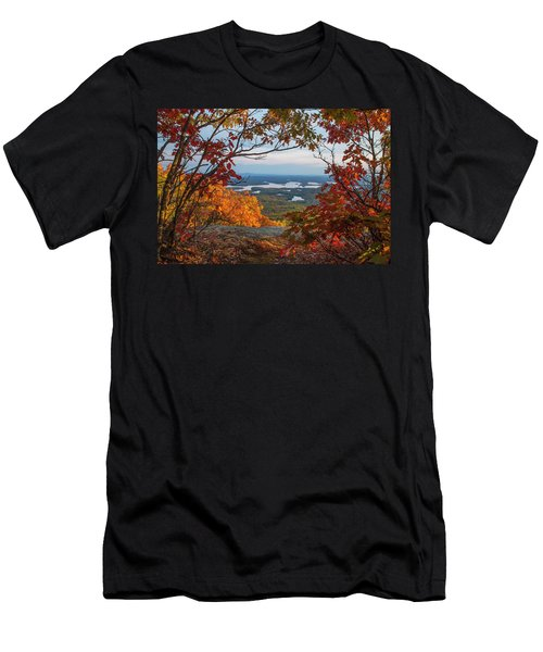 Squam Lake Autumn Views Men's T-Shirt (Athletic Fit)