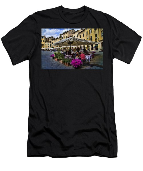 Square Amphitheater In Lucca Italy Men's T-Shirt (Athletic Fit)