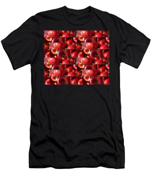 Square Apples Men's T-Shirt (Athletic Fit)