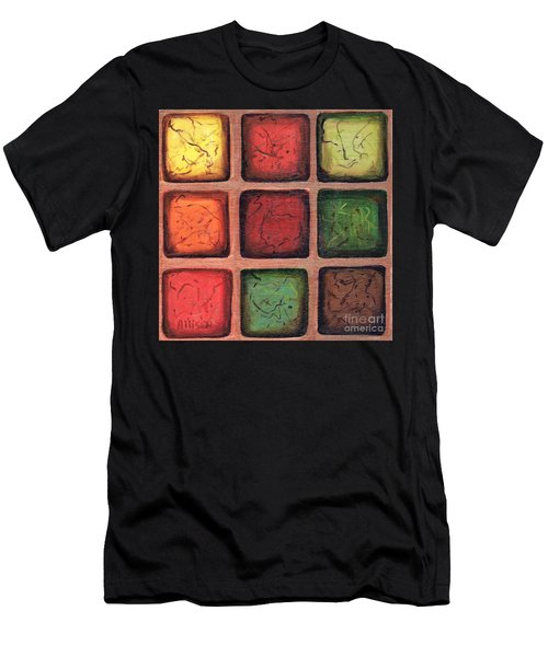 Squared In Bronze Men's T-Shirt (Athletic Fit)