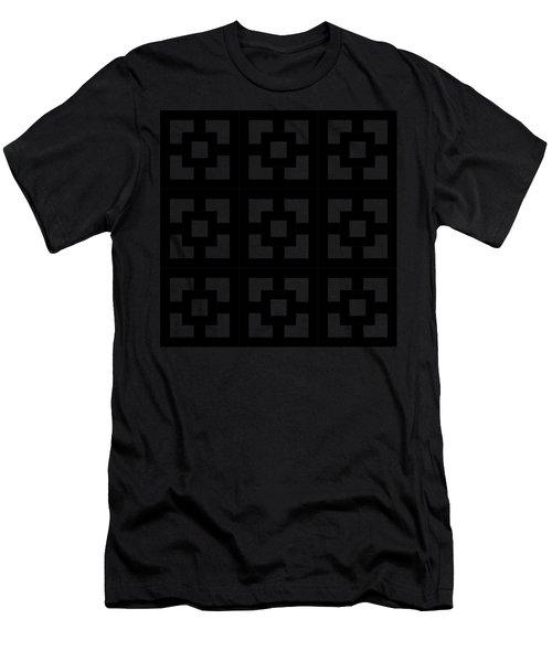 Squares Multiview Men's T-Shirt (Athletic Fit)